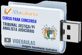 Curso Concurso Tribunal Justiça – PI – Analista Judiciário – Videoaulas Pendrive