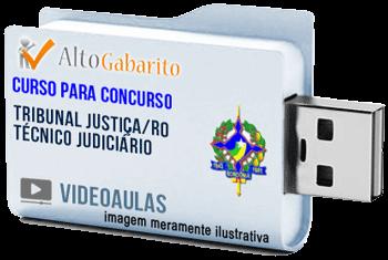 Curso Concurso Tribunal Justiça – RO – Técnico Judiciário – Videoaulas Pendrive