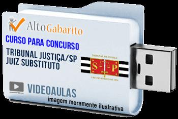 Curso Concurso Tribunal Justiça – SP – Juiz Substituto – Videoaulas Pendrive
