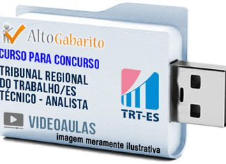 Curso Concurso TRT 17ª Região – ES – Técnico e Analista – Videoaulas Pendrive