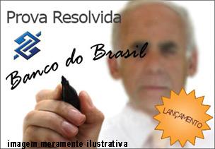 Prova Banco do Brasil Escriturário 2008 Matemática formato PDF – Download