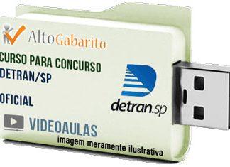 Curso Concurso Detran – SP – Oficial – Videoaulas Pendrive