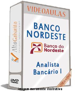 Curso Concurso Banco Nordeste – Analista Bancário I – Videoaulas DVDs
