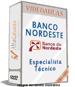 Curso Concurso Banco Nordeste – Especialista Técnico – Videoaulas DVDs
