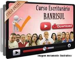 Curso Concurso Banrisul – Escriturário – Videoaulas Download