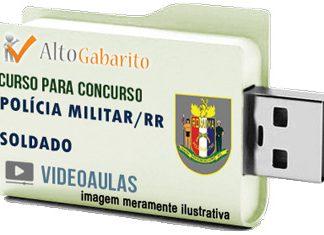 Curso Concurso Polícia Militar – RR – Soldado PM – Videoaulas Pendrive