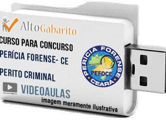 Curso Básico Concurso PEFOCE – Perito Criminal – Videoaulas Pendrive