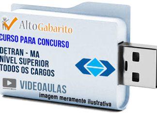 Curso Concurso Detran – MA – Todos os Cargos – Nível Superior – Videoaulas Pendrive