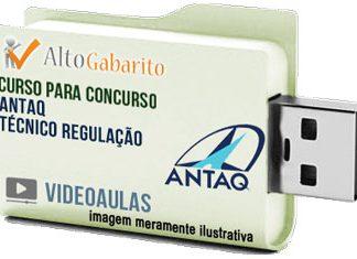 Curso Concurso ANTAQ – Técnico Regulação – Videoaulas Pendrive