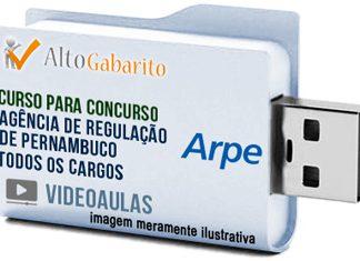 Curso Concurso ARPE – Todos Cargos – Videoaulas Pendrive