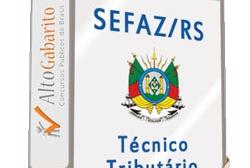 Curso Concurso SEFAZ – RS – Técnico Tributário – Videoaulas DVDs