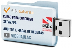 Curso Concurso SEFAZ – PA – Auditor e Fiscal de Receitas – Videoaulas Pendrive