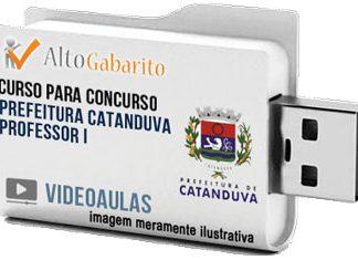 Curso Concurso Prefeitura Catanduva – Professor I – Videoaulas Pendrive