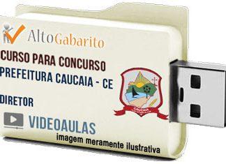 Curso Concurso Prefeitura Caucaia – CE – Diretor – Videoaulas Pendrive