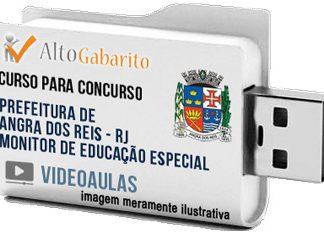 Curso Concurso Prefeitura Angra dos Reis – RJ – Monitor Educação – Videoaulas Pendrive