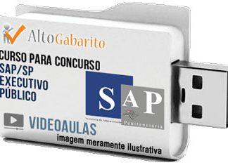 Curso Concurso SAP – SP – Executivo Público – Videoaulas Pendrive